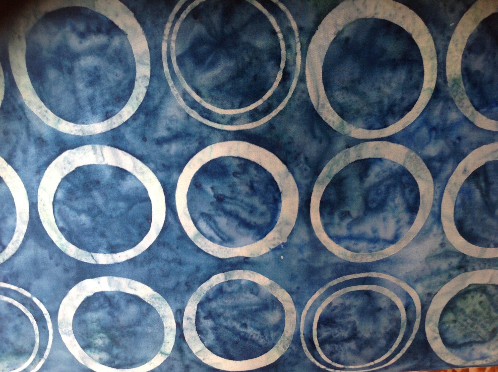 Helsinki Batik Lt Blue Lg Rings