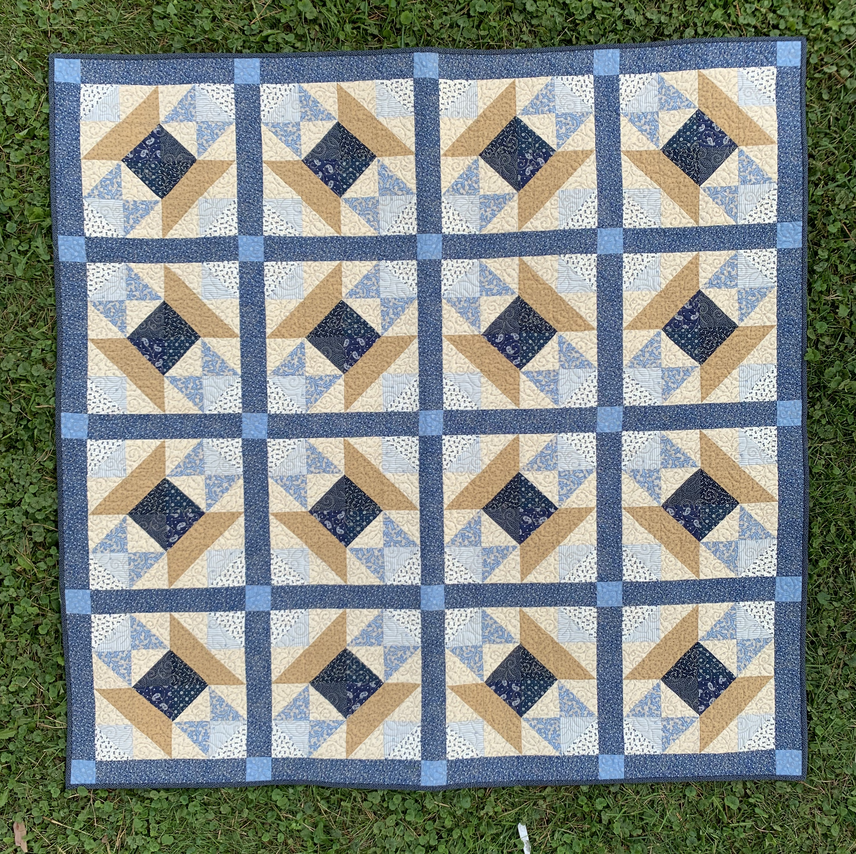 Nancy Spool's Quilt 57x57