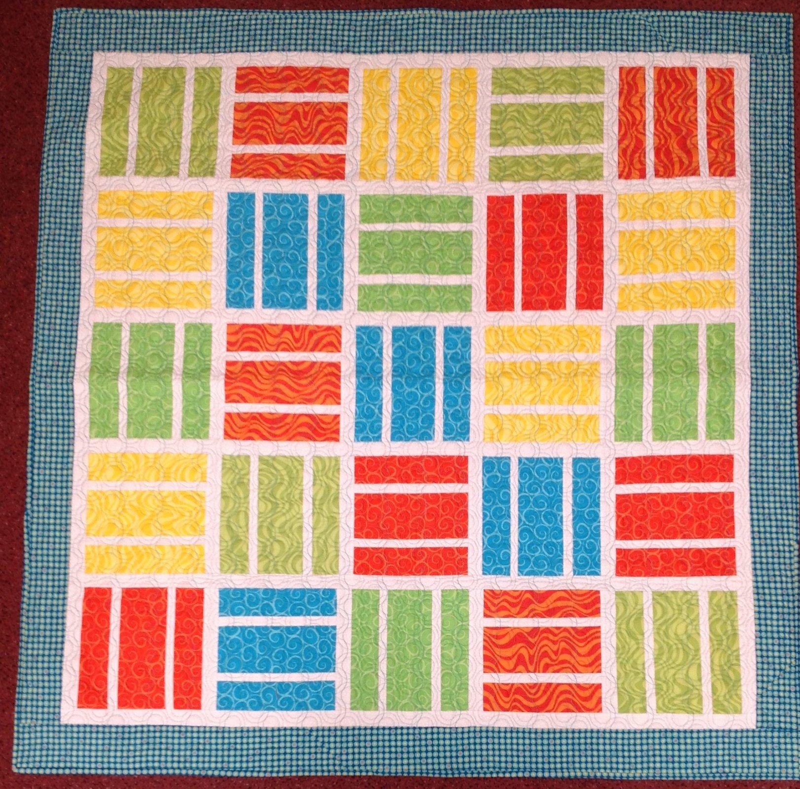 Modern Baby Quilt 50x50