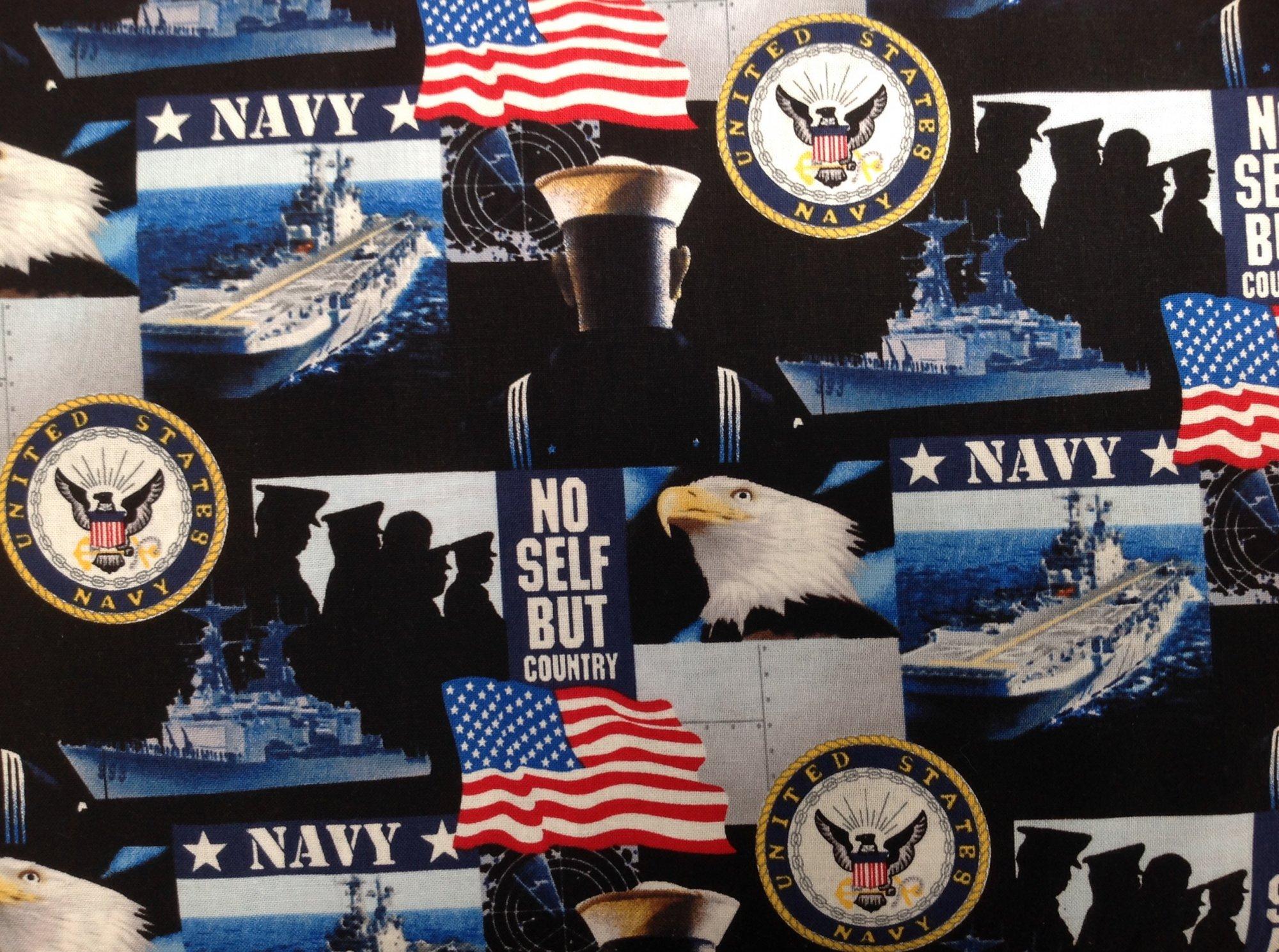 Military Prints - Navy