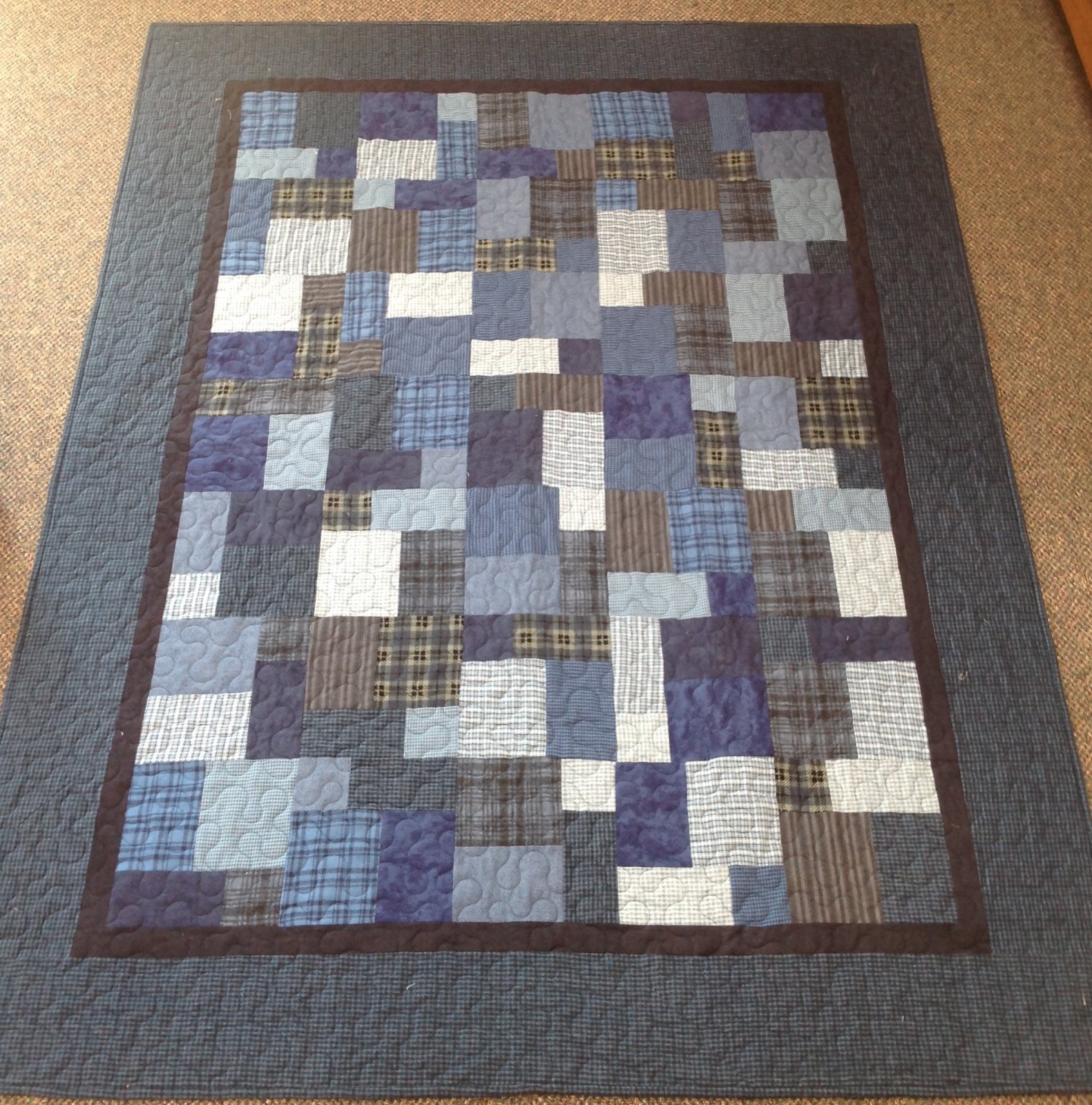 Blue Flannel Cool Water Kit 60 x 78