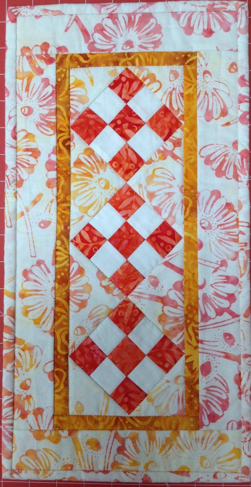 Batik Runner 9x17