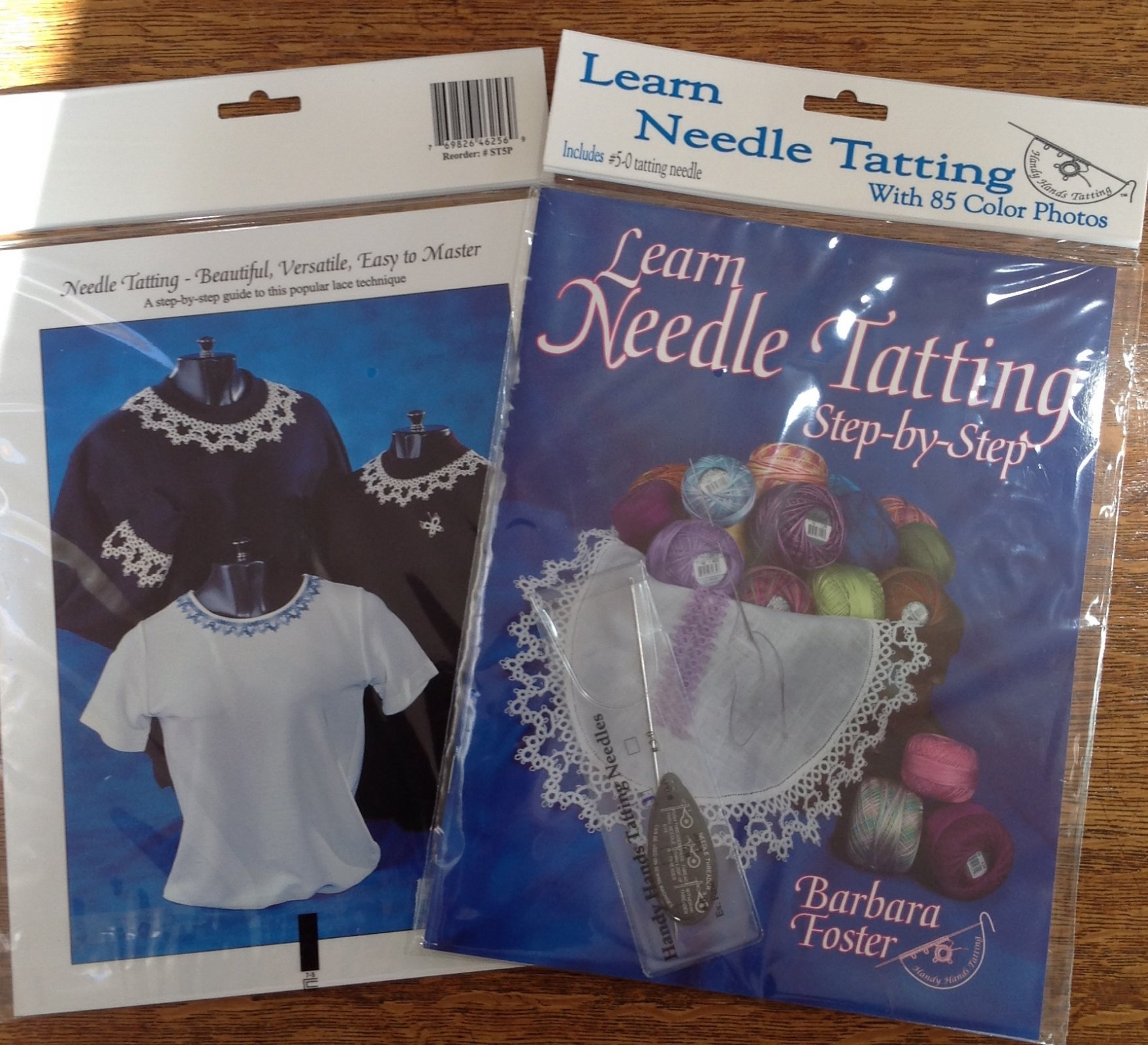 Learn Tatting Step by Step with Needle