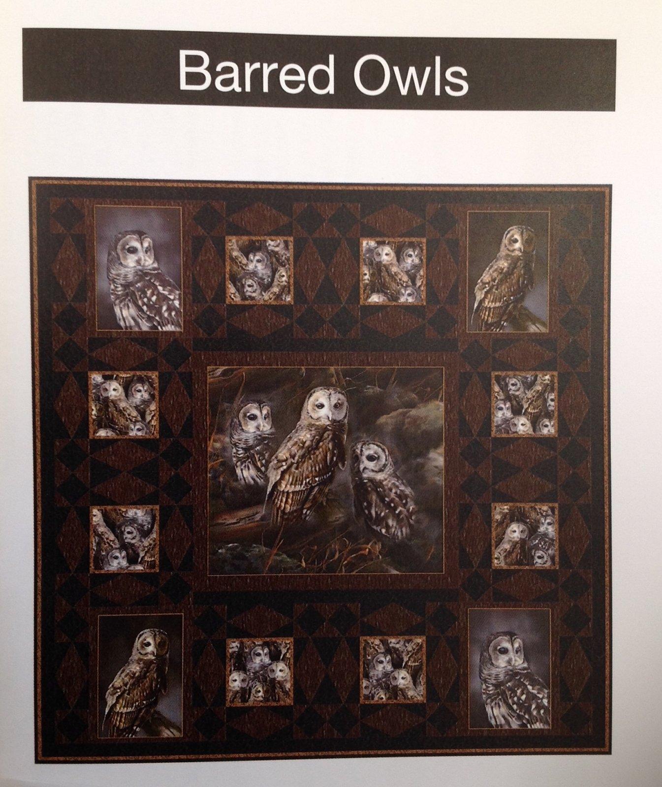 Barred Owls Kit 43 x 43