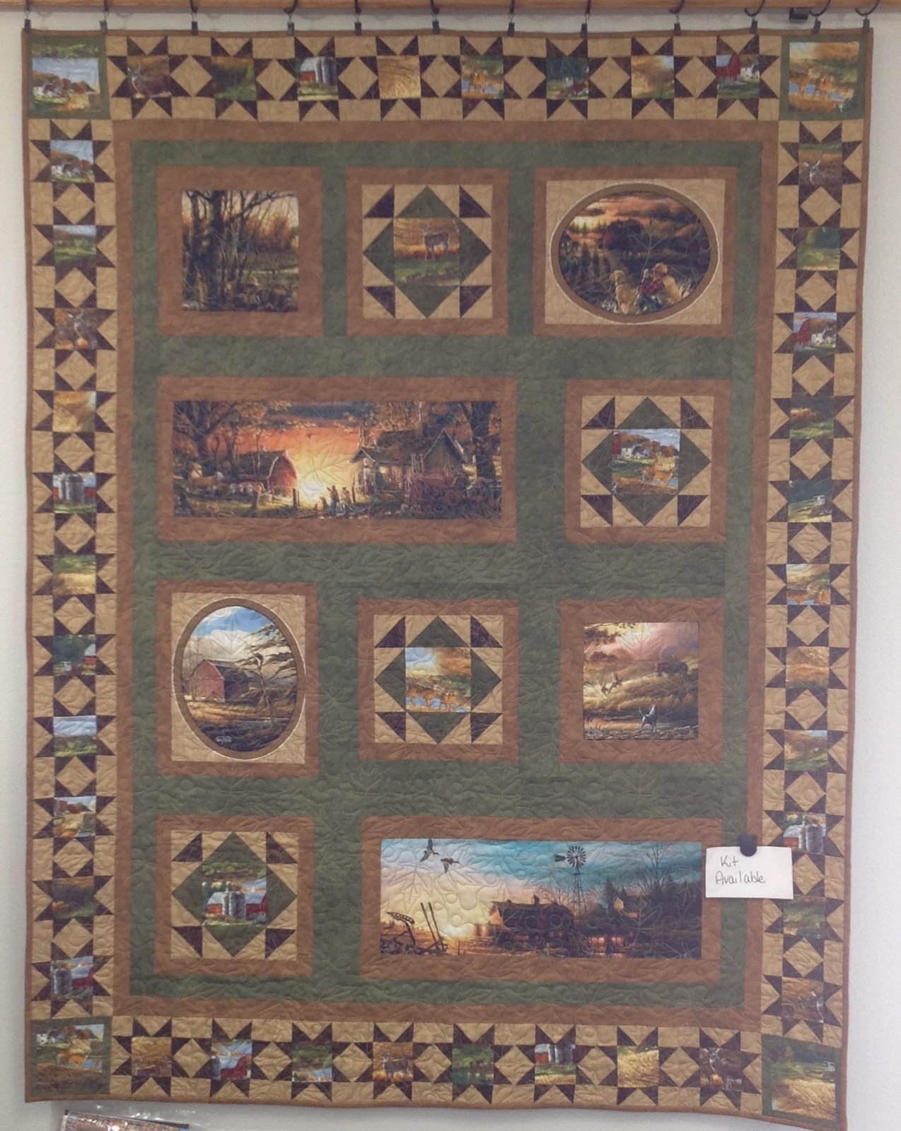 Homestead Prairie Patchwork Kit 50 x 65