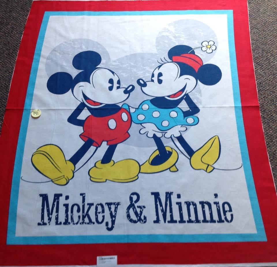 Mickey and Minnie Panel