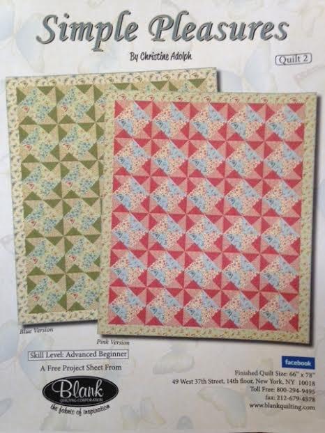 Simple Pleasures Pinwheel - Red 66x78
