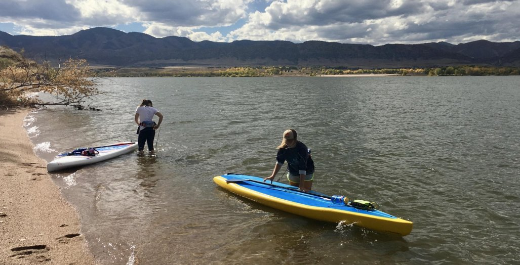 SUP, Chatfield Reservoir, Denver CO