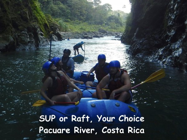 SUP or Raft, Pacuare River, Costa Rica, POC tours