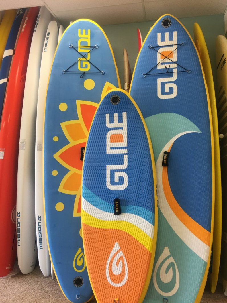 GLIDE iSUPs Inflatable Stand Up Paddleboards