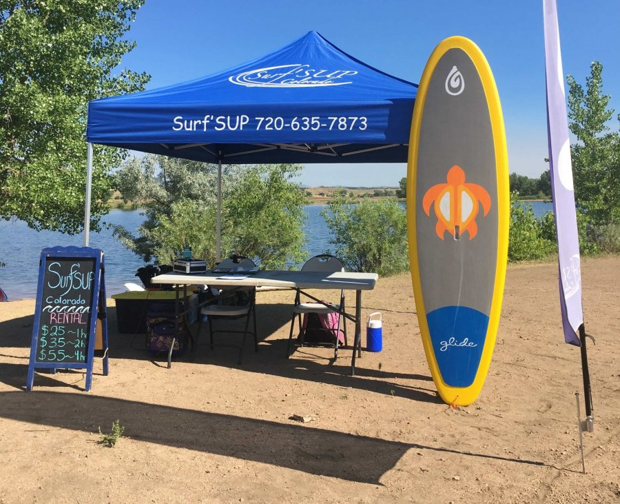 Surf'SUP SUP Stand Up Paddleboard Gravel Pond Chatfield S.P. Rentals Lessons