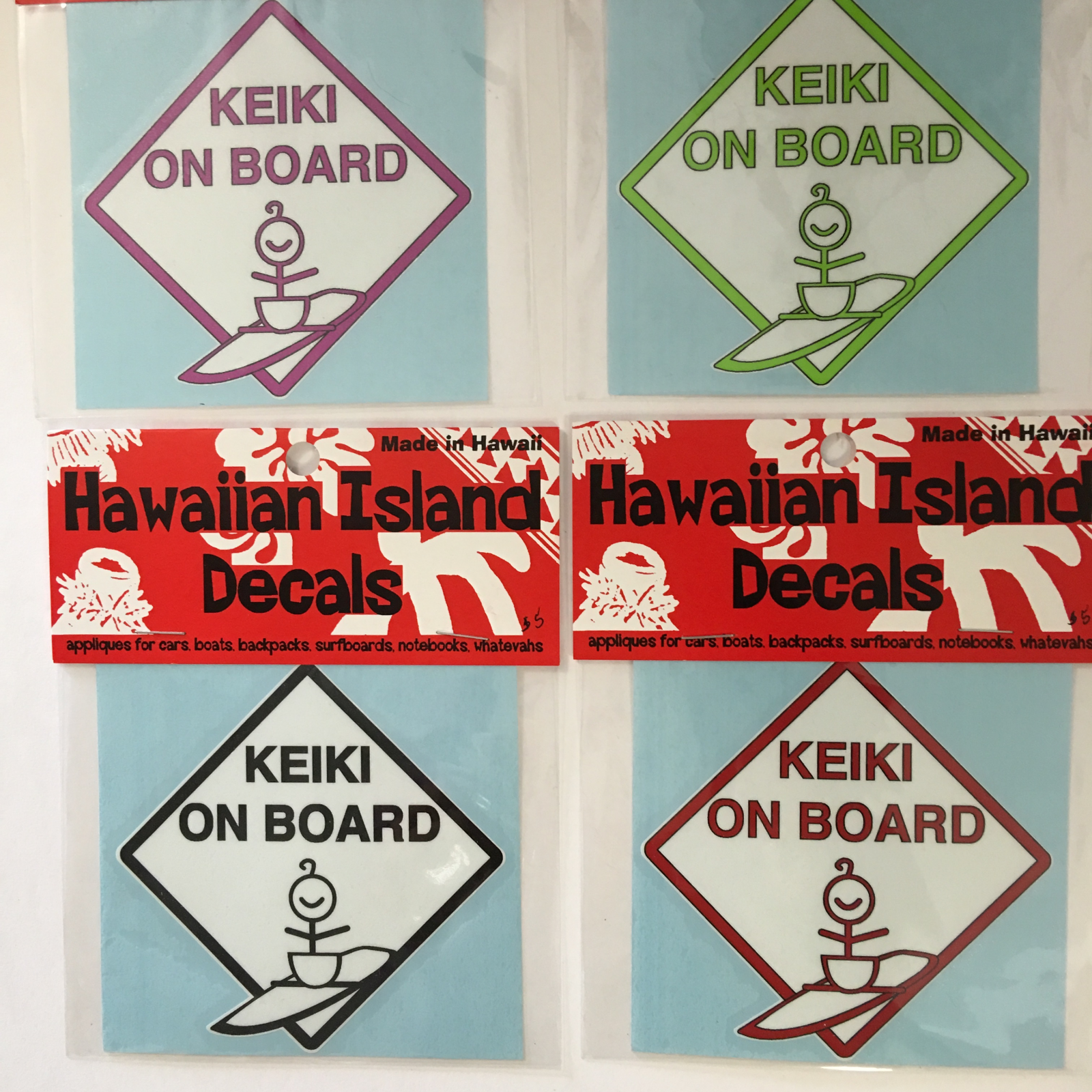 RSP Decal Keiki on Board