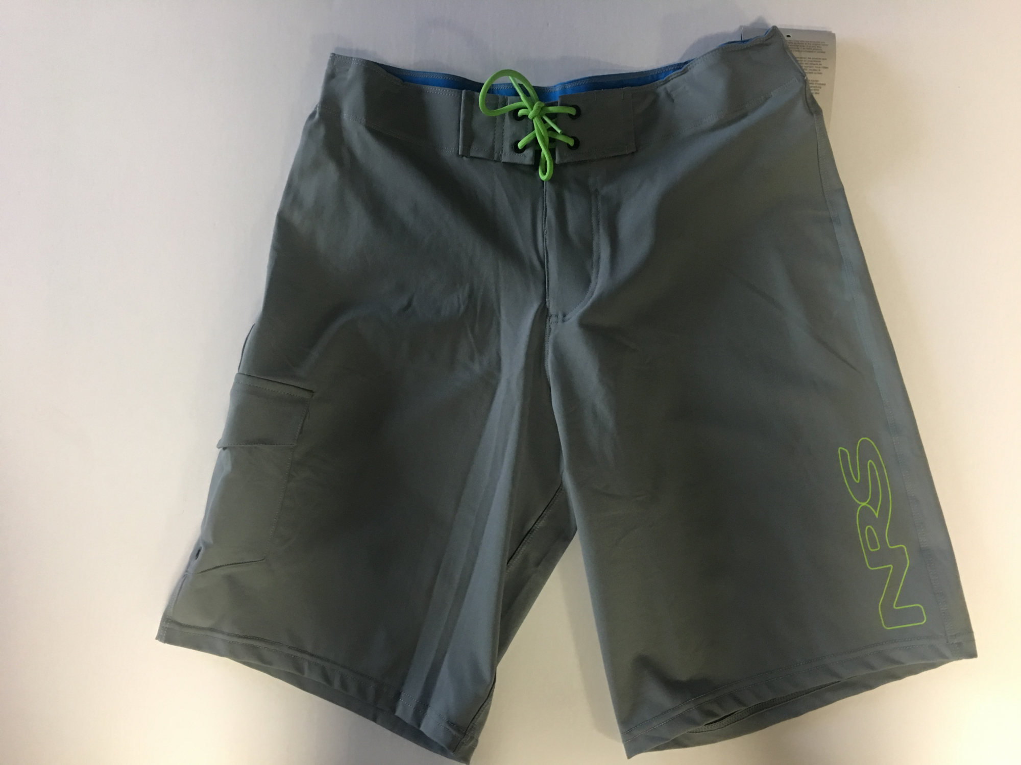 NRS Mens Benny Board Shorts Grey