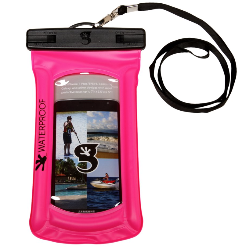 Gecko Phone Dry Bag Waterproof & Float