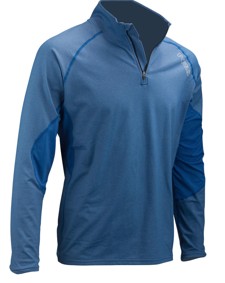 NRS Mens H2Core Lightweight 1/4 Zip Neck