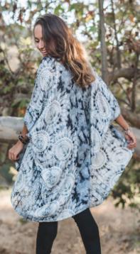 Santa Barbara Island Kimono