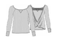 Cybele Heather Grey Long Sleeve