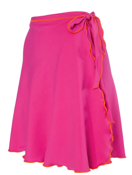 Bold Babe Wrap Skirt Pink