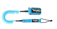 10' VAMO Coiled Leash Blue