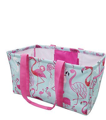 Large Utility Tote Flamingo