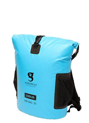 Gecko 30L Tarpaulin Dry Bag Cooler Backpack Blue