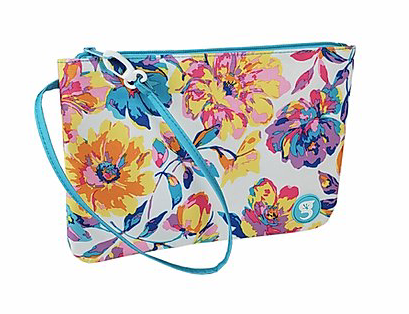 Swim Bag Watercolor Floral
