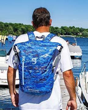 Gecko 30L  Endeavor WP Lightweight Backpack Ocean