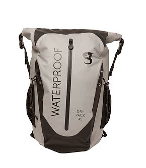 Gecko Paddler 45L Waterproof Backpack Grey/Black