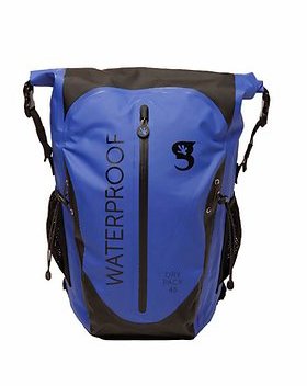Gecko Paddler 45L Waterproof Backpack Royal/Black