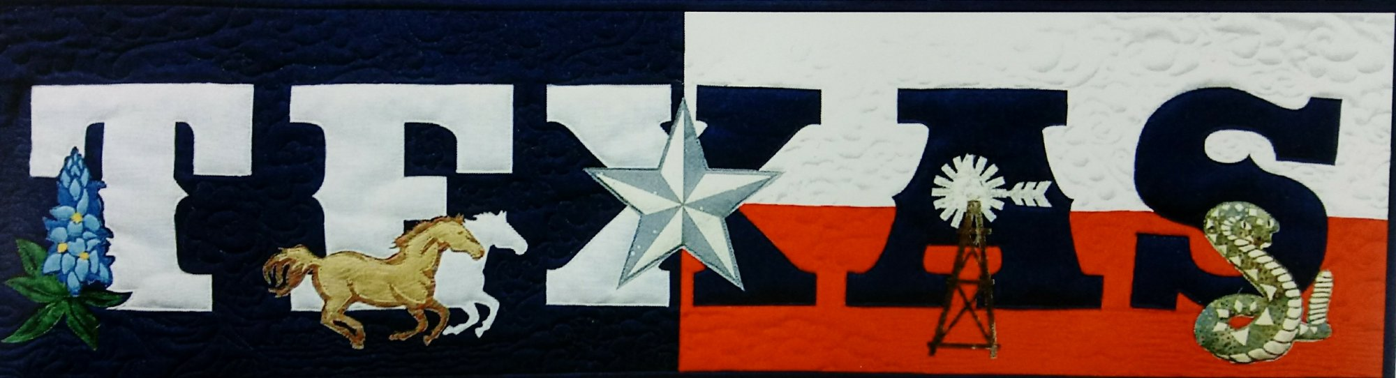 Texas Banner from the State Pride Collection by Westfield Laser Design