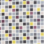 Checkerboard Fabric Easily Matched for Quilt Backing