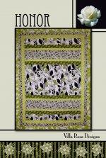 Honor RoseCard Quilt Pattern by Villa Rosa Designs