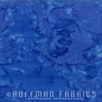 Bali Watercolors Fat Quarter - Dragonfly from 1895 Batiks by Hoffman Fabrics