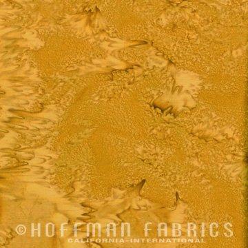 Bali Watercolors Fat Quarter - Dijon from 1895 Batiks by Hoffman Fabrics