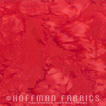 Bali Watercolors Fat Quarter - Chilies from 1895 Batiks by Hoffman Fabrics