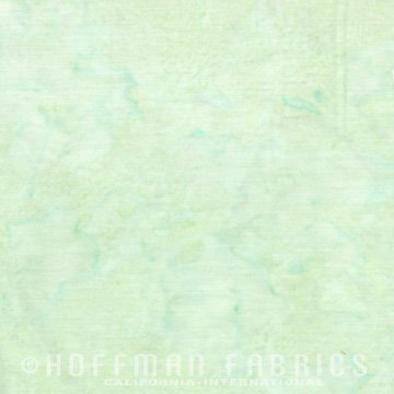 Bali Watercolors Fat Quarter - Sea Grass from 1895 Batiks by Hoffman Fabrics