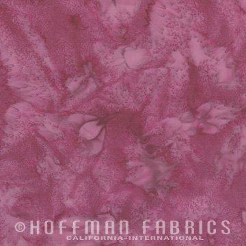 Bali Watercolors Fabric - Blooms from 1895 Batiks by Hoffman Fabrics