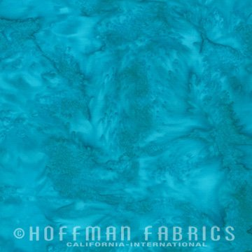 Bali Watercolors Fat Quarter - Delta from 1895 Batiks by Hoffman Fabrics