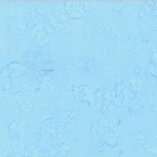 Bali Watercolors Fabric - Baby Blue by Hoffman Fabrics