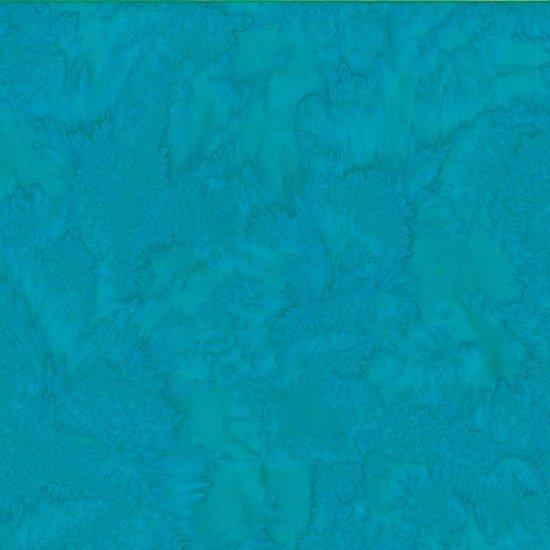 Bali Watercolors Fabric - Aquarium by Hoffman Fabrics