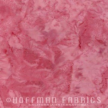 Bali Watercolors Fat Quarter - Dusty Pink from 1895 Batiks by Hoffman Fabrics