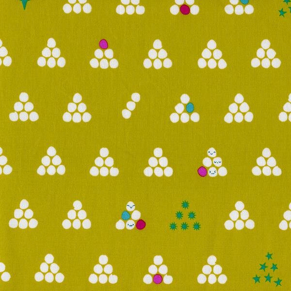 Mochi - Lime Fat Quarter Mochi Collection by Cotton+Steel