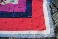 Quilt Top, Batting, & Backing as a Quilt Sandwich