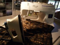 About Quilting Tools - Sewing Machine, Iron, Ironing Board & Lighting