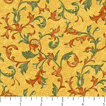 Euphoria Yellow Multi Fabric Euphoria Collection by Northcott
