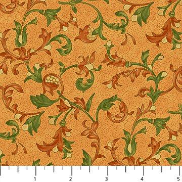 Euphoria Orange Multi Fabric Euphoria Collection by Northcott