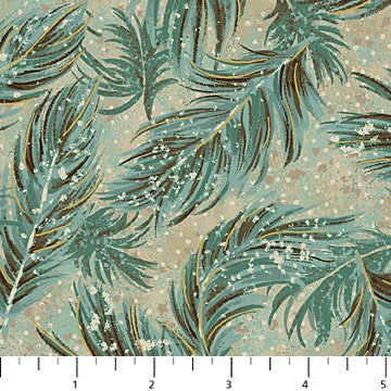 Feathers Fabric Flight of Fancy Collection by Northcott