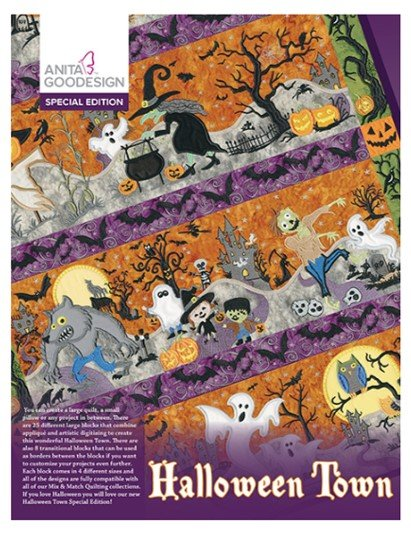 Halloween Town Special Edition Embroidery Collection by Anita Goodesign