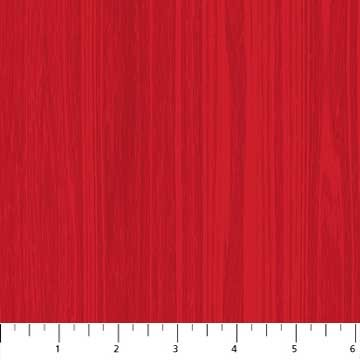 Texture Fat Quarter - Red Swedish Christmas Collection by Northcott