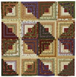 Example 7 of Log Cabin Block Layout